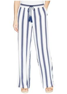 BB Dakota Gove Striped Wide Leg Pants