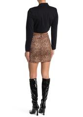 BB Dakota Here Kitty Mini Skirt