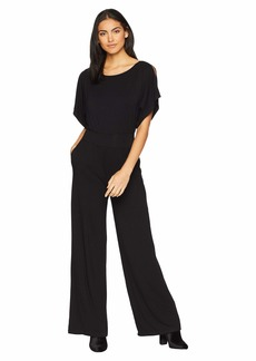 BB Dakota Hottie Off Duty Rayon Spandex Jumpsuit