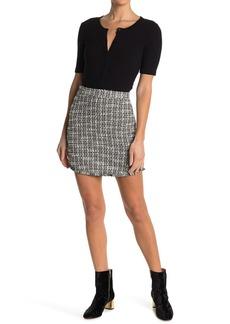BB Dakota It's Blair High Waisted Tweed Skirt