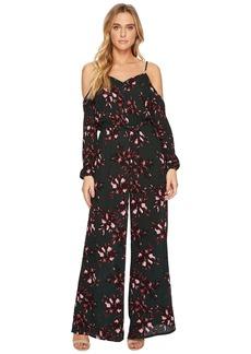 """BB Dakota Adaline """"Romantic Floret"""" Printed Crinkle Rayon Jumpsuit"""