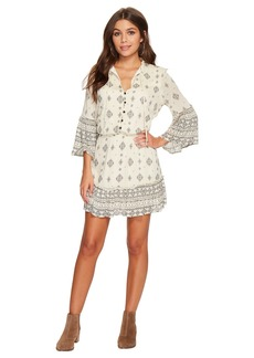 BB Dakota Andee Mixed Print Dress