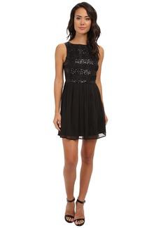 Jack by BB Dakota Ani Crinkle Chiffon Dress