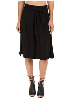 Jack by BB Dakota Barb Rayon Twill Wide Leg Culottes