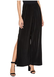 Bitsy Crinkled Wide-Leg Pants