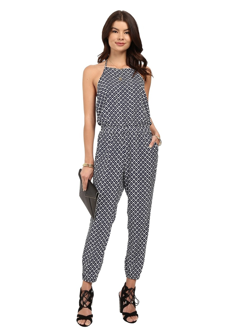 Jack by BB Dakota Brockton Printed Rayon Jumpsuit
