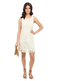 Jack by BB Dakota Calliope Lace Dress and Cotton Fringe Trim