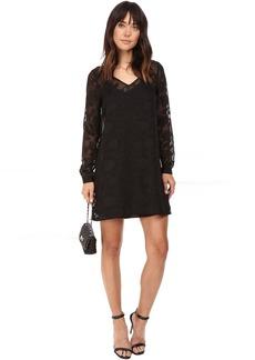 BB Dakota Chae Floral Dobby Dress w/ Slip