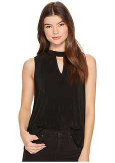 BB Dakota Dana Pleated Sleeveless Top