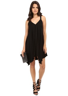 Jack by BB Dakota Domani Twill Handkerchief Hem Dress with Twill Straps