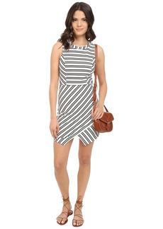 Jack by BB Dakota Dominick Stripe Ponte Bodycon Dress
