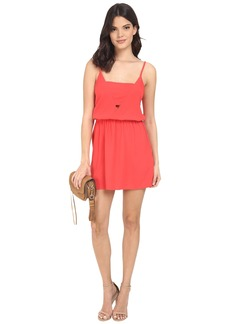 Jack by BB Dakota Embeth Heavy Crepe Deep V-Neck Dress