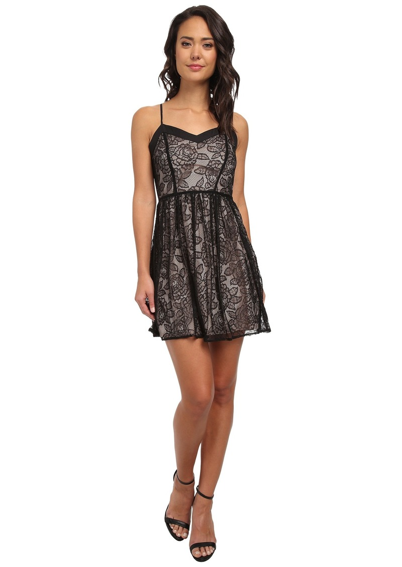 Jack by BB Dakota Esther Lace Fit and Flare Dress