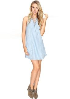 BB Dakota Gilbert Lace-Up Dress