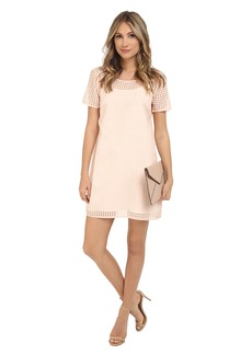 Jack by BB Dakota Hendricks Gingham Organza Shift Dress and Slip