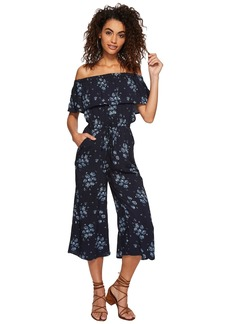 "BB Dakota Hewitt ""Blue Dreams"" Printed Midi Length Jumpsuit"