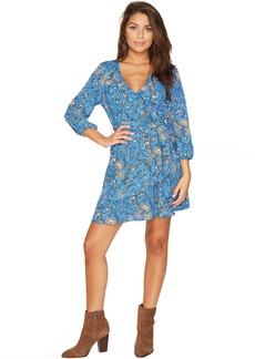 Jack by BB Dakota Hugh Printed Wrap Dress