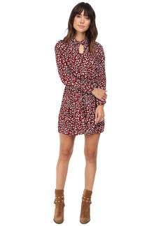 Jack by BB Dakota Jamila Printed Keyhole Dress