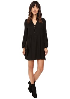 Jack by BB Dakota Jerrilyn Rayon Crepe Long Sleeve Dress