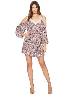 "BB Dakota Keyes ""Ditzy Blossom"" Printed Crinkle Rayon Dress"