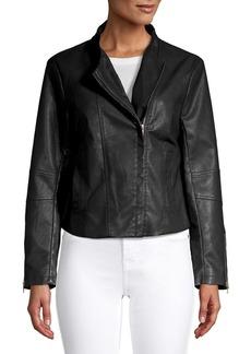 Jack by BB Dakota Leather Moto Jacket