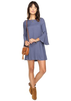 Jack by BB Dakota Lulani Bell Sleeve Dress