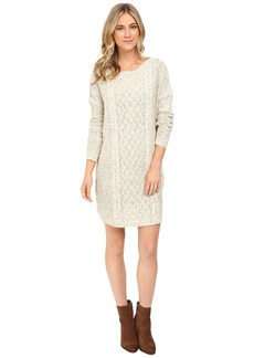 Jack by BB Dakota Macey Cable Knit Sweater Dress