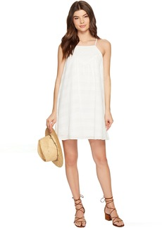 Jack by BB Dakota Neilan Textured Cotton Dress with Cotton Eyelet Yoke