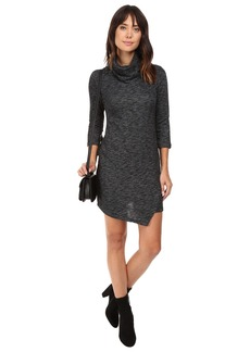 Jack by BB Dakota Noland Knit Cowl Neck Dress