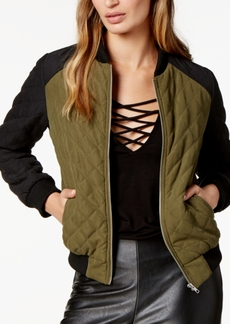 Jack by Bb Dakota Loring Quilted Bomber Jacket