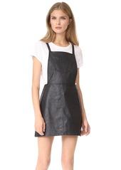 Jack by BB Dakota Robison Faux Leather Dress