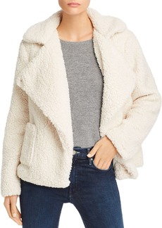 Jack by BB DAKOTA Soft Skills Sherpa Faux Fur Jacket