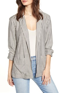 Jack by BB Dakota The Girlfriend Ticking Stripe Blazer