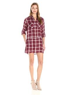 Jack by BB Dakota Women's Anden Plaid Shirt Dress
