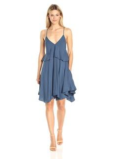 Jack by BB Dakota Women's Auda Rayon Twill Handerchief Dress