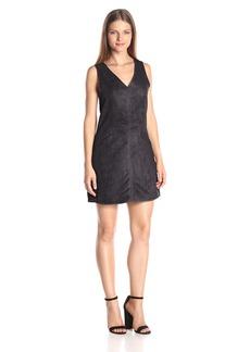 Jack by BB Dakota Women's Bane Faux Suede Back Cutout Dress