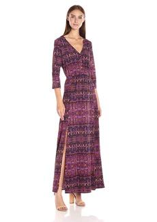 Jack by BB Dakota Women's Buchanan Kaleidoscope Printed Maxi Dress