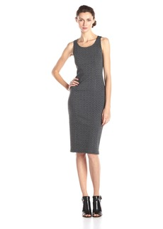 Jack by BB Dakota Women's Castel Cable Pattern Knit Jacquard Midi Dress