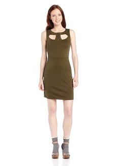 Jack by BB Dakota Women's Gabie Ponte and Studs Dress