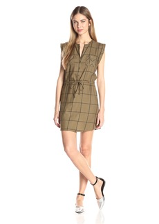 Jack by BB Dakota Women's Janis Yard Dye Plaid Dress