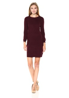 Jack by BB Dakota Women's marano Novelty Stitch Sweater Dress