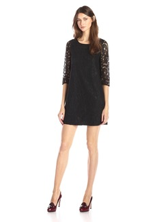 Jack by BB Dakota Women's Mckale Lace Shift Dress