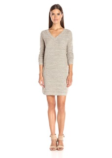 Jack by BB Dakota Women's Merriweather Marled Sweater Dress