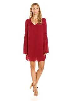 Jack by BB Dakota Women's Michaelis Crepe Wide Sleeve Dress
