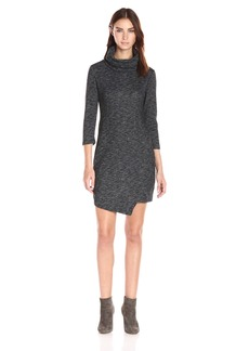 Jack by BB Dakota Women's Noland Knit Cowl Neck Dress