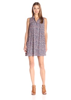 Jack by BB Dakota Women's Salazar Bouquet Toss Printed Dress