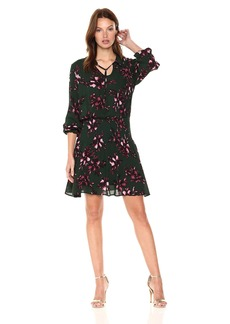 Jack by BB Dakota Women's Shandon Romantic Floret Printed Dress
