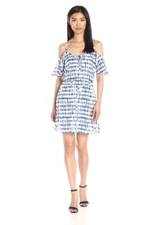 Jack by BB Dakota Women's Vivi Printed Off Shoulder Dress