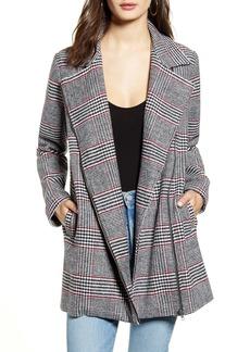 Jack by BB Dakota Yarn Dyed Plaid Coat