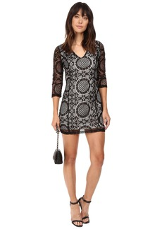 Jack by BB Dakota Yazmin Lace Dress w/ Contrast Lining